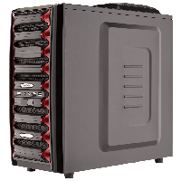 Корпус компьютерный LogicPower LP 9905, Elite Series, без БП
