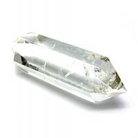 Двухголовый кристалл горного хрусталя (+-7х1 см) Код:28746