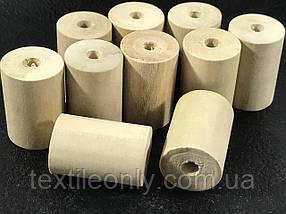 Деревянные заготовки для рукоделия цилиндр 26х16 мм