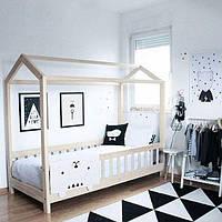 Домик-кровать на ножках с бортиком, фото 1