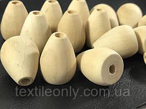 Деревянные заготовки для рукоделия конус 24х19 мм