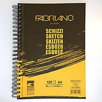 "Блокнот для эскизов ( SketchBook ) А4 ""Schizzi"" Fabriano (Италия)"
