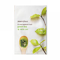 Маска-антиоксидант с экстрактом зеленого чая Innisfree It´s Real Squeeze Mask Green Tea, оригинал