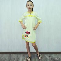 Детская трикотажная ночная сорочка для девочек «ДЖЕЙН»