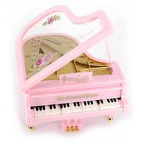 Рояль  с танцующими клавишами и музыкой заводной (11,5х11х7 см) Код:29814
