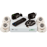 Комплект видеонаблюдения GreenVision GV-K-G01/04 720Р