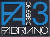 """Альбом для эскизов с черными листами ( BlackBook ) А4 """"Disegno 3 Nero"""" Fabriano (Италия)"""