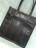 Женская сумка стильная коричневая GUESS (Турция)