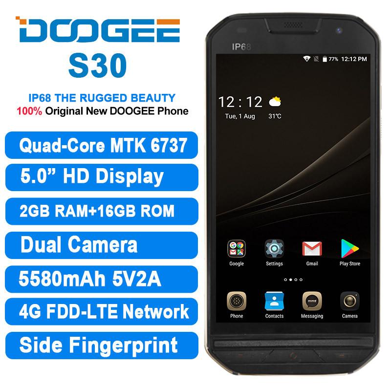 Doogee s30 black, фото 1