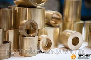 Производство (изготовление) бронзовых втулок (вкладышей) ОЦС изготовление 2 дня