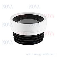 Прямое соединение для унитаза 110х120 мм Nova (Турция)