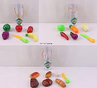 Овощи и фрукты, 3 вида, делятся пополам, 2236ABC