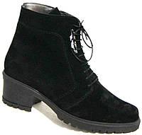 Ботинки зимние замшевые большого размера, женская обувь больших размеров от производителя модель МИ5172-5