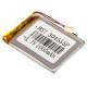 Литий-полимерный аккумулятор 3*40*55mm (1000mAh 3,7V)