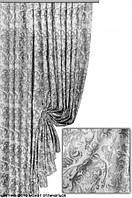 Ткань для пошива штор Лукас серый
