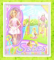 Кукла типа Барби, 29см, парк развлечений: карусели, горки, YSD123-1