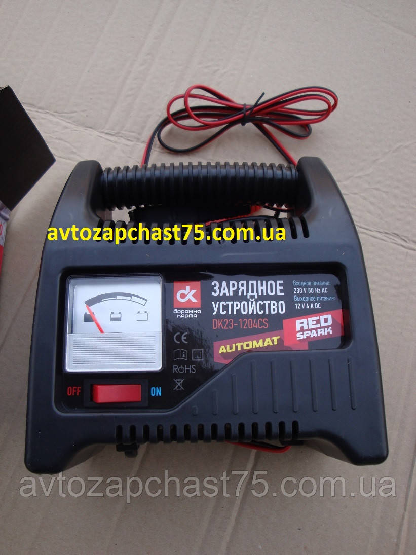 Зарядное устройство 4 Ампер, 12 Вольт (производитель Дорожная карта, Харьков, Украина)