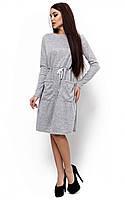 Теплое платье Далия с карманами (42-48), фото 1