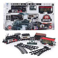 Іграшкова залізниця 701831, довжина шляхів 650см, Паровоз з функцією цього диму, ж/д, фото 1