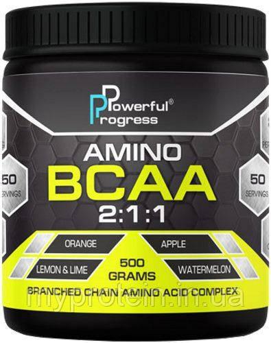 Powerful Progress BCAA 2:1:1 500 g