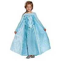 Карнавальный костюм принцесса Эльза Frozen Elsa Ultra Prestige Costume платье Ельзы