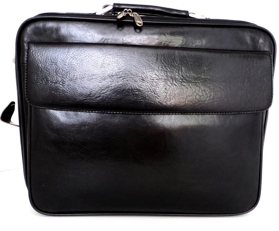 35ec0a6ec29c Деловой портфель Сумка для ноутбука. Кожаный. Италия. Черный ...