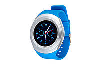 Часы ATRIX Smart watch X2 IPS metal-blue