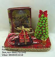 """Новогодний подарок с конфетами и чаем""""Письмо деду морозу"""", фото 1"""