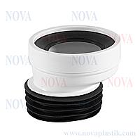 Эксцентрик для соединения унитаза 20 мм Nova (Турция)