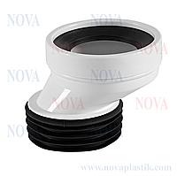 Эксцентрик для соединения унитаза 40 мм Nova (Турция)