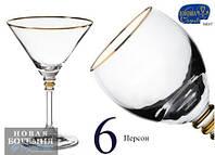 Набор бокалов для мартини 210 мл 6 шт Bohemia Olivia b40346-20314