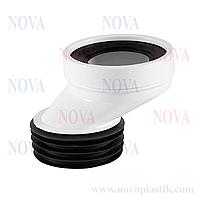 Эксцентрик для соединения унитаза 60 мм Nova (Турция)