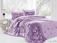 Комплект постельного белья First Choice Ranforce семейный Ivy lila