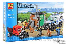 Конструктор Bela 10419 (Lego City 60448) Поліцейський загін з собакою 250 дет