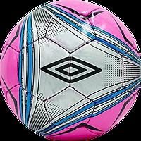 Мяч футбольный UMBRO Silver/pink , фото 1