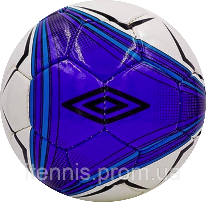 Мяч футбольный UMBRO Purple/white