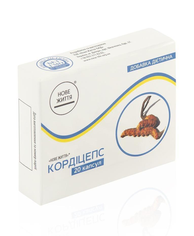 """Иммунномодулятор """"Кордицепс"""" капс.20-пагубно действует на пневмококк, стрептококк, золотистый стафилококк"""