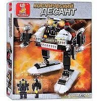Конструктор Боевой робот серии Космический десант Sluban (B0336 A) Код:1829