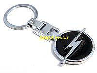 Брелок с логотипом Opel чёрный, фото 1
