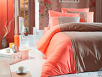 Комплект постельного белья First Choice Ranforce Deluxe Евро Craze-vizon
