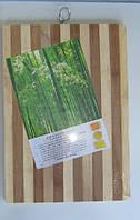 Разделочная доска из бамбука 22х32х1.5 см