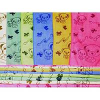 Микрофибровая салфетка с рисунком медвежат СК0016