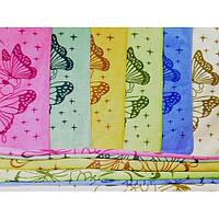 Микрофибровая салфетка с рисунком бабочек СК0018
