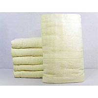 Махровые однотонные банные полотенца ПБ0206