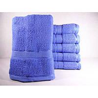 Махровые однотонные банные полотенца ПБ0132