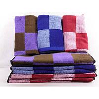 Махровые кухонные полотенца в клеточку ПК00070