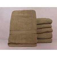 Махровые однотонные банные полотенца ПБ0225