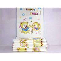 Велюровые кухонные полотенца с медвежатами ПК00064
