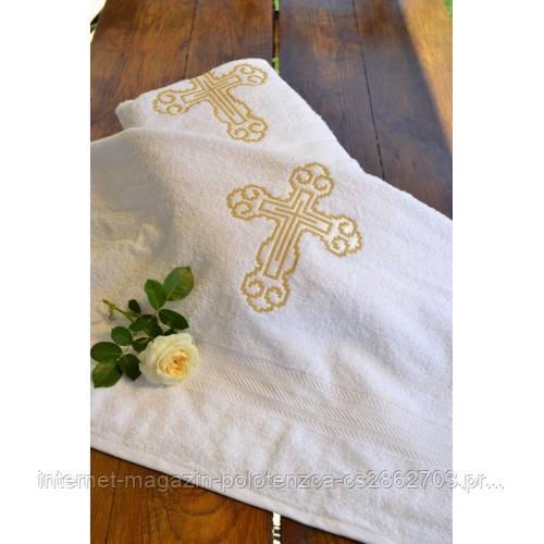 Крыжма для крещения с вышивкой 820