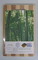 Разделочная доска из бамбука 18х28х0.8см